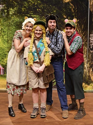 "Nashville Opera On Tour's traveling production of ""Goldie B. Locks & The Three Singing Bears""  will be performed Saturday at the Williamson County Public Library (Main Franklin Branch, 1314 Columbia Ave.)"