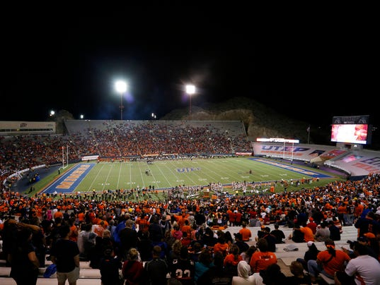 NCAA Football: Texas Tech at Texas El Paso