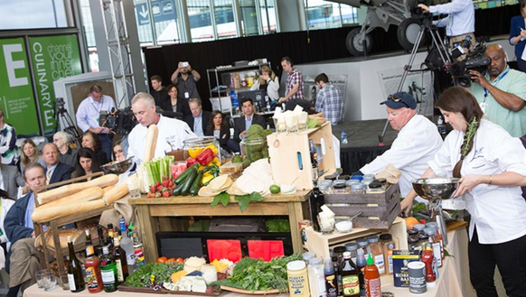 A scene from the 2015 Channel Your Inner Chef cook-off