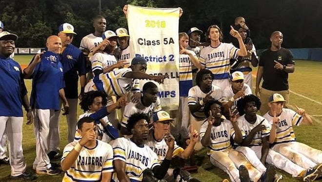 Rickards' baseball team beat Marianna 3-2 in the District 2-5A final on Thursday night, capturing its first district title since 2010.