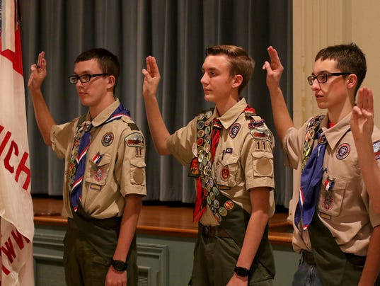 Ealge Scouts honored