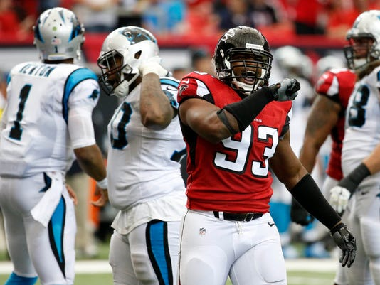 USP NFL: CAROLINA PANTHERS AT ATLANTA FALCONS S FBN USA GA