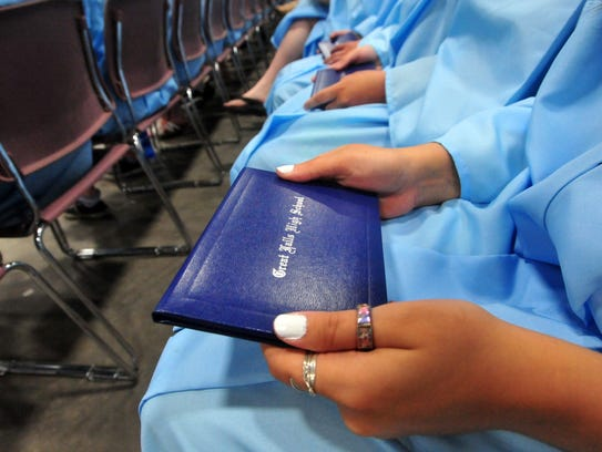 The Great Falls High School Class of 2018 commencement