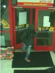Police are looking for two men who they say robbed