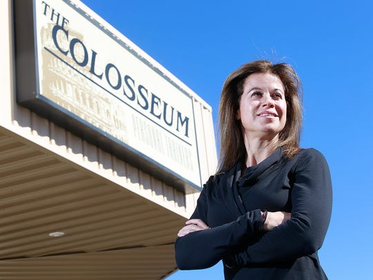 Crystal Williams owns The Colosseum gym in Farmington and co-owns an oil and gas field wireline business in Bloomfield with her husband.