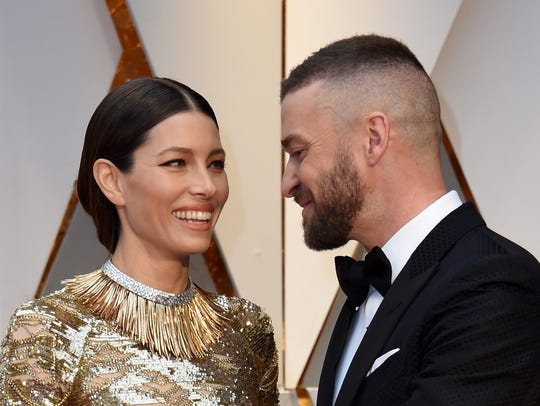 In February, Justin Timberlake and wife Jessica Biel