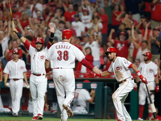 MLB: Arizona Diamondbacks at Cincinnati Reds
