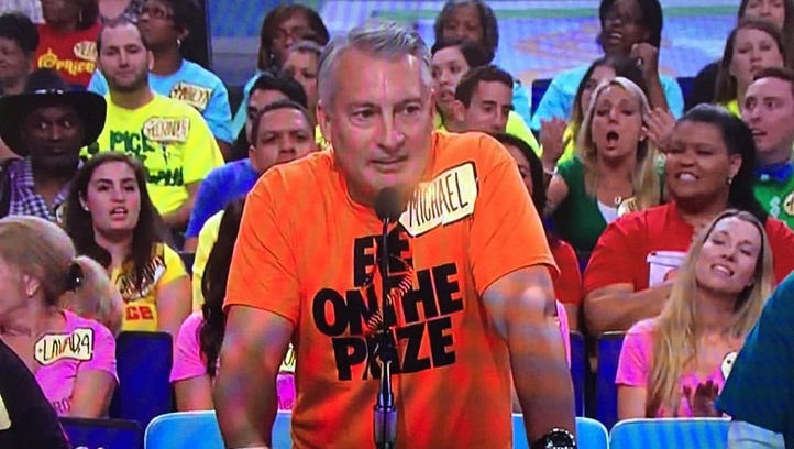 Hamilton County Magistrate Michael L. Bachman makes his TV debut on The Price is Right.