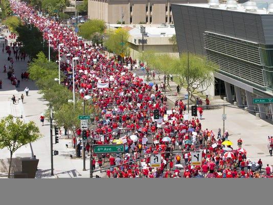 Arizona teacher walkout