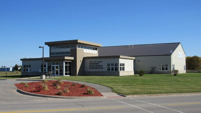 The exterior of Sault Ste. Marie Economic Development Corporation, located on 2345 Meridian St.