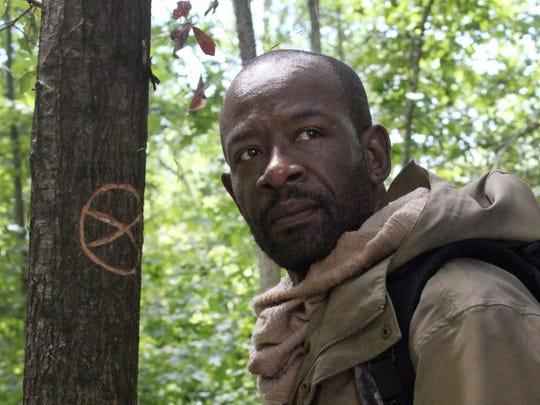 "Lennie James as Morgan Jones in ""The Walking Dead."""