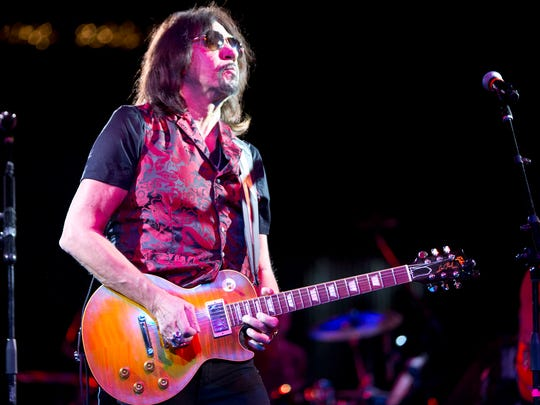 Ace Frehley with Sixwire perform at Alice Cooper's