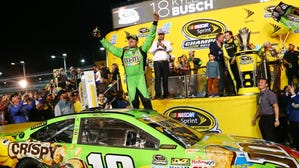 Kyle Busch caps comeback with Sprint Cup championship