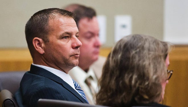 Gov. Doug Ducey denied clemency for Richard Chrisman, a former Phoenix police officer who was sentenced to seven years in prison after shooting a man.