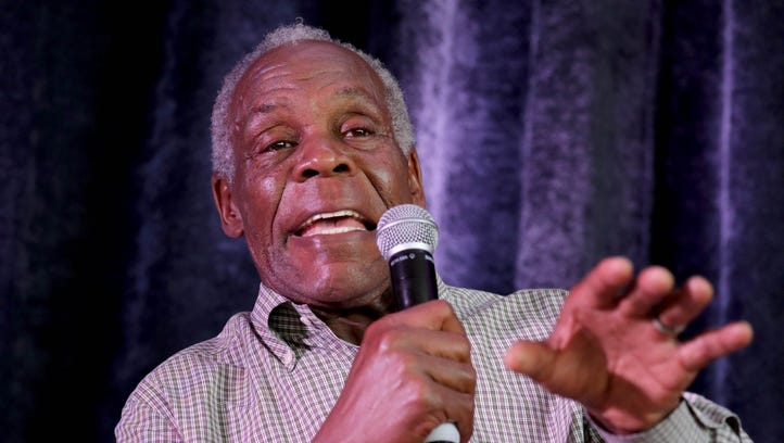 Actor and social activist Danny Glover speaks Monday