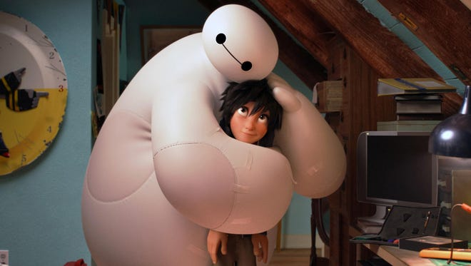 """Disney's """"Big Hero 6"""" is just one of the many family-friendly flicks being screened at outdoor movie series throughout Westchester, Putnam and Rockland."""