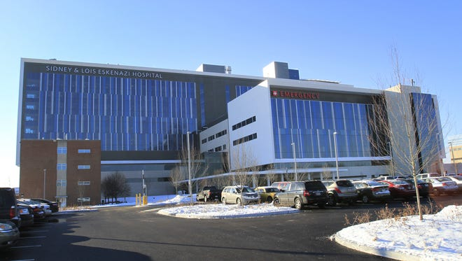 Eskenazi Hospital, which opened in Indianapolis in December 2013, has seen the number of its patients without insurance drop from about 35 percent to 25 percent, since the Affordable Care Act was enacted.