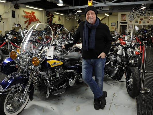 Billy Joel at 20th Century Cycles
