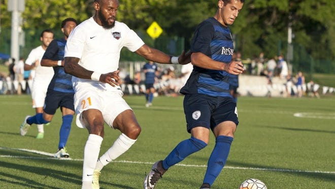 Former University of Evansville standout Mark Anthony Gonzalez was named the Swope Park Rangers' offensive player of the year on Saturday.