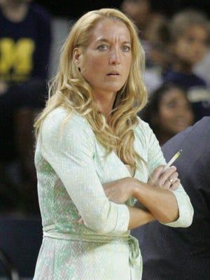 The University of Detroit Mercy head coach Autumn Rademacher