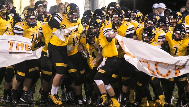 Red Lion dropped a spot in the District 3 6-A power ratings after Week 5 to No. 4, despite remaining undefeated with a win over Northeastern. Amanda J. Cain photo