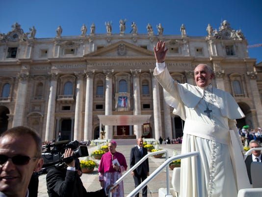 Pope Francis: 'God is not afraid of new things'
