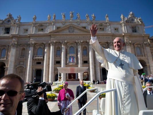 AP VATICAN POPE I ITA