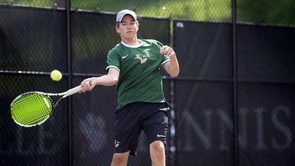 Christ School's tennis team was 7-0 as of Friday.
