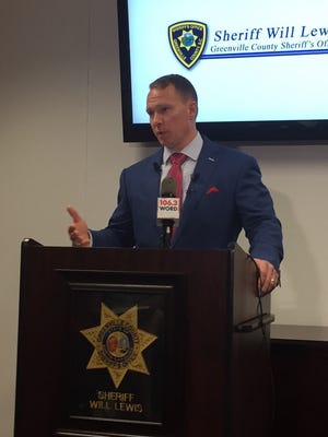 Greenville County Sheriff Will Lewis discusses the first officer-involved shooting of his tenure.