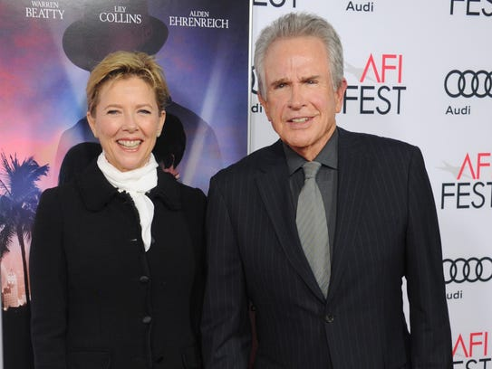 Warren Beatty and Annette Bening arrive at the AFI
