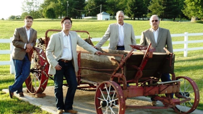 The Crestmen perform at this year's Praise in the Park kickoff on July 5 at Gypsy Hill Park's bandstand in Staunton.