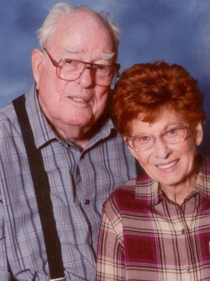 Mr. and Mrs. Jimmie Dunham of San Angelo celebrated their 70th wedding anniversary.