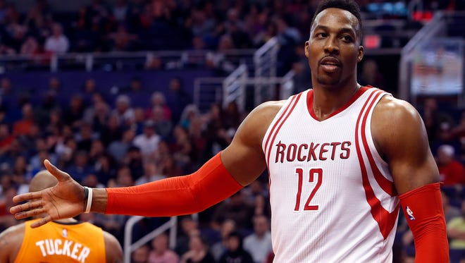 Rockets C Dwight Howard hasn't given up hope that it can work in Houston.