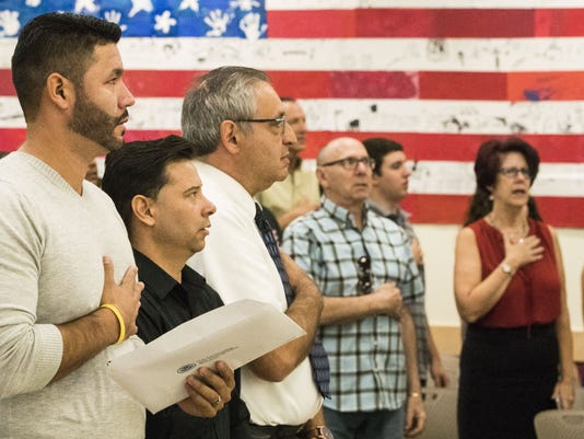 Trump's welcome message pleases new U.S. citizens