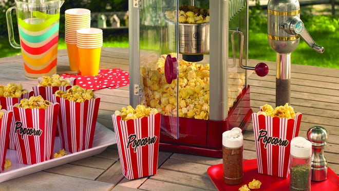 Light, airy and fresh popcorn is a perfect summer snack.