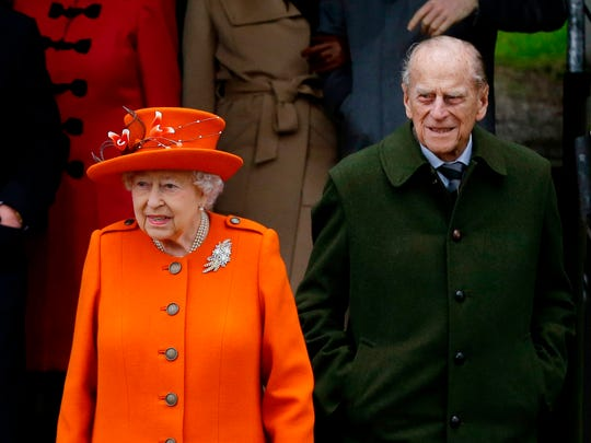 Prince Philip, seen here with Queen Elizabeth at Christmas