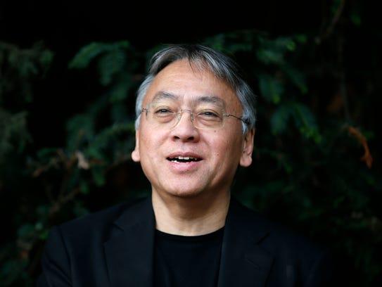 British novelist Kazuo Ishiguro in October 2017.