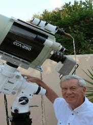 Astrophotographer Ted Wolfe has successfully moved