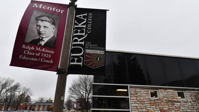 The Reagan Athletic Complex at Eureka College, which on Monday had most of its fall sports suspended because of the COVID-19 pandemic.