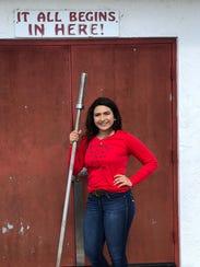 Mercedes Garcia, LaBelle weightlifting