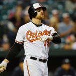Davis has hit 161 home runs since joining the Orioles in 2011.