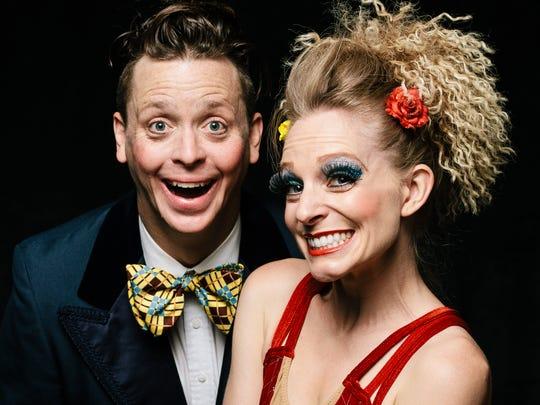 Matt Morgan and Heidi Brucker Morgan of Cirque du Fringe.
