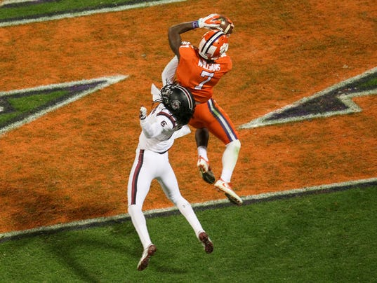 Image result for mike williams clemson touchdown