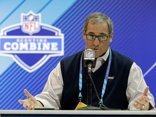 New York Giants general manager Dave Gettleman said