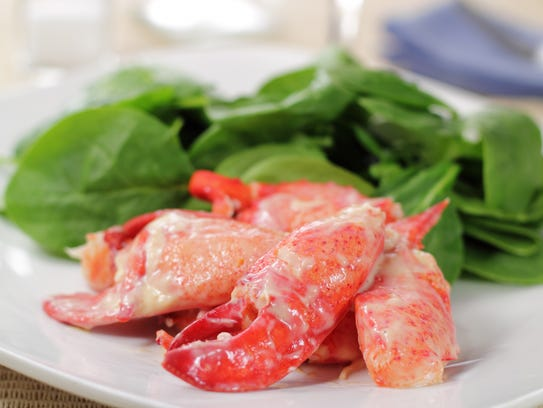 Lobster Newburg is an elegant and tasty dish.