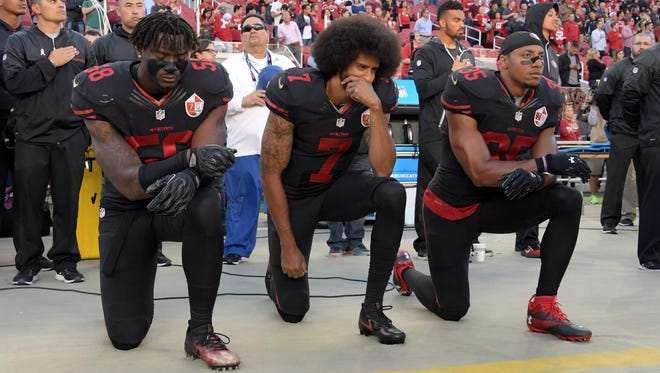 Wolf Pack alum Colin Kaepernick's national anthem protest made him a hero to some and a villain to others.