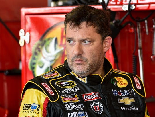 Tony Stewart, pictured, struck and killed Kevin Ward