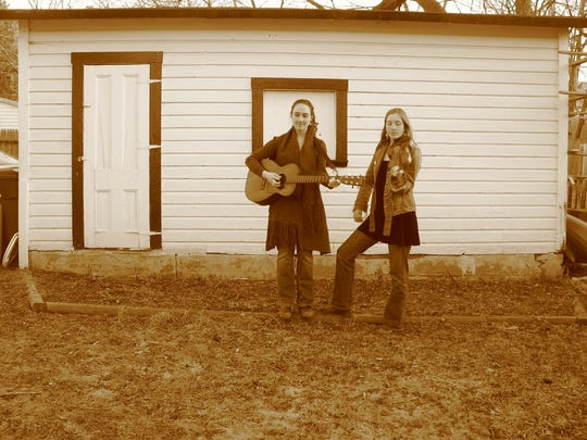 The folk duo Mayfly plays Saturday in Burlington.