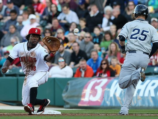 The Indianapolis Indians will host the Columbus Clippers