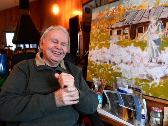 Western artist and Blackfeet Tribal member Gary Schildt